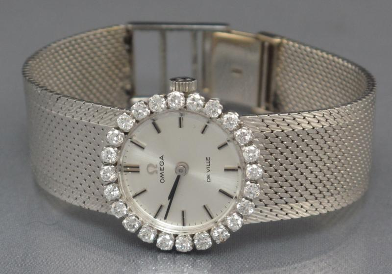 Omega Diamond Watch