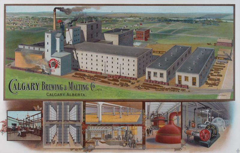 Brewery Lithograph