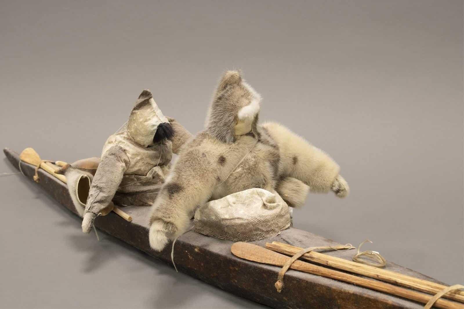 Inuit Kayak Model