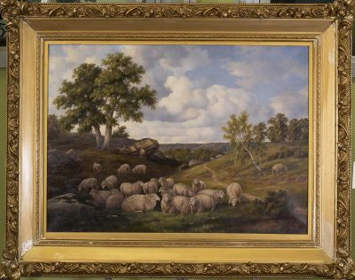 HENRY HAROLD VICKERS, OIL ON CANVAS