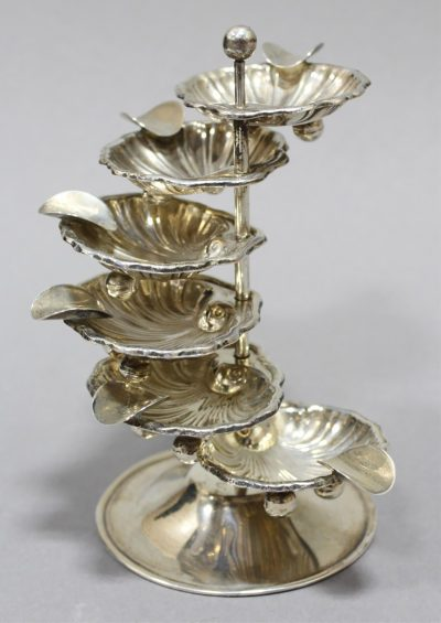 STERLING SILVER STACKING ASHTRAY