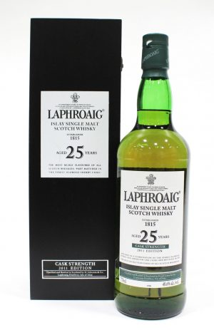 Laphroaig 25 Year Old Cask Strength, 2011 Release