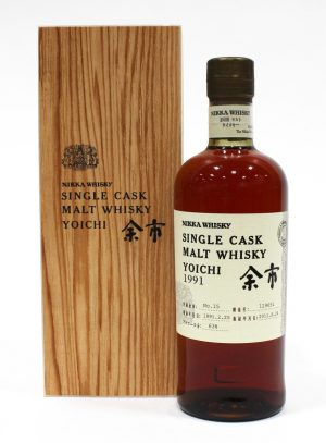 Nikka 1991 Yoichi Malt Whisky, Single Cask #129651