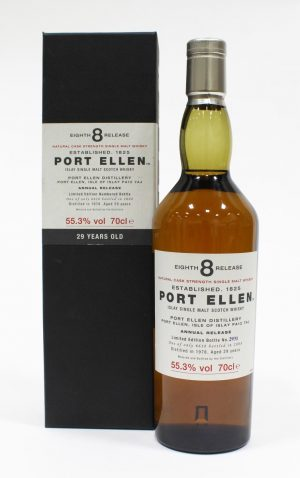 Port Ellen 1979 29 Year Old 8th Release