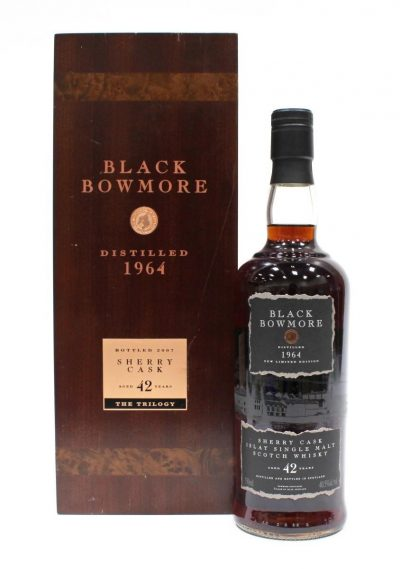 Bowmore 1964 Black Bowmore – 42 Year Old | Sold for $ 23,400, June 2020