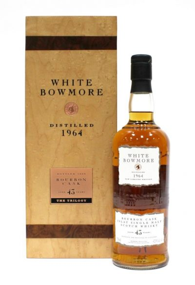 Bowmore 1964 White Bowmore – 43 Year Old | Sold for $ 15,210, June 2020