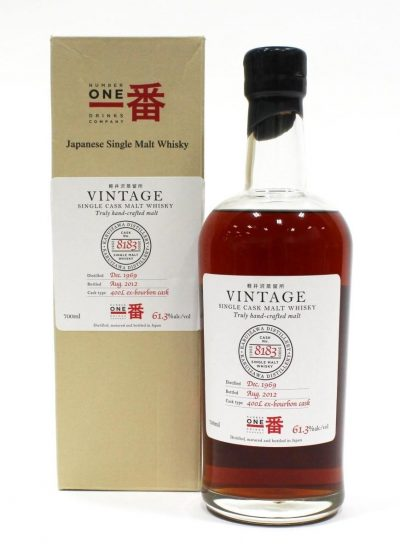 Karuizawa 42 Year Old Vintage Cask #8183 | Sold for $ 10,800, June 2020
