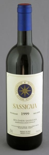 Sassicaia - 1999 6 bottles Bolgheri | Sold for $ 1,150, December 2010