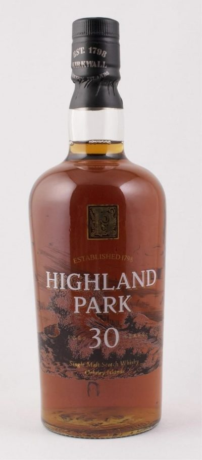 Highland Park 30 Year Old | Sold for $ 1,560, September 2019