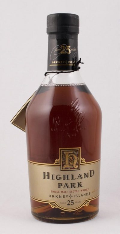 Highland Park Cask Strength – 25 Year Old | Sold for $ 1,200, September 2019