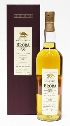 Brora 35 Year Old, 2013 Release