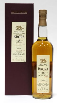 Brora 38 Year Old, 2016 Release