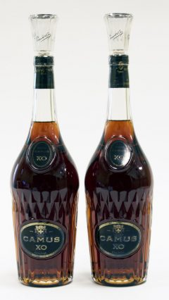 Camus XO Cognac, Old Decanter (2 bottles)