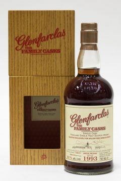 Glenfarclas 1993, The Family Casks, Cask #75