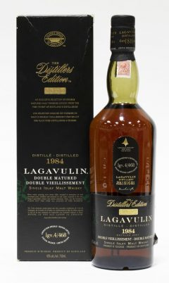 Lagavulin 1984 Distillers Edition, 17 Year Old