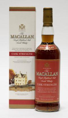 Macallan Cask Strength, Red Label