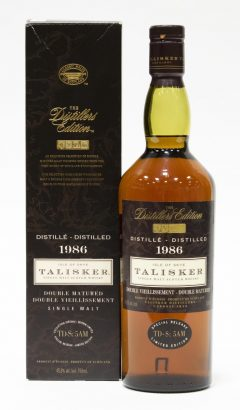 Talisker 1986, Distillers Edition