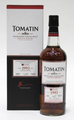 Tomatin 1993 Single Cask, 20 Year Old