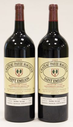 2005 Chateau Pavie Macquin (2 bottles)