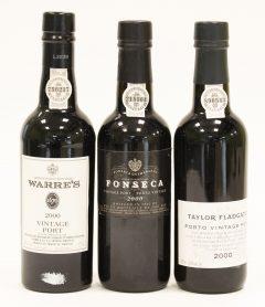 Vintage Ports (3 bottles)