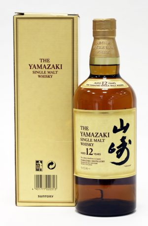 The Yamazaki Single Malt Whisky Aged 12 Years