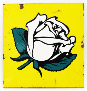 EN-AR-CO 'WHITE ROSE' ADVERTISING SIGN