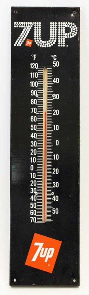7UP ADVERTISING THERMOMETER