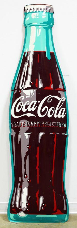COCA-COLA DIE-CUT ADVERTISING SIGN