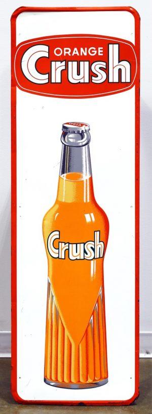 ORANGE CRUSH ADVERTISING SIGN