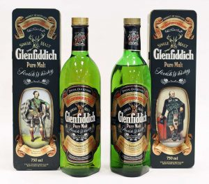 Glenfiddich Clans of the Highlands, 1980s (2)
