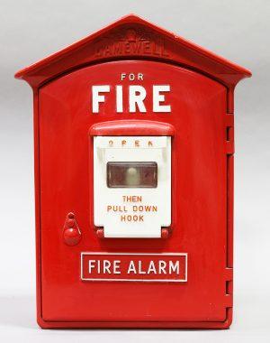 GAMEWELL FIRE ALARM CALL BOX
