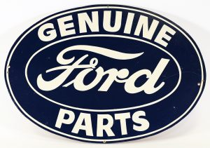 FORD PARTS ADVERTISING SIGN