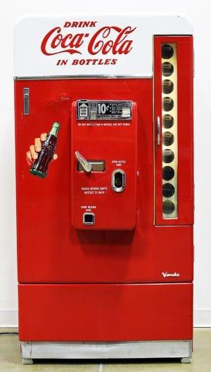 VENDO V-110 COCA COLA COIN-OP VENDING MACHINE