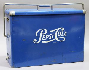 "PEPSI-COLA ADVERTISING ""CARRICOOL"" COOLER"