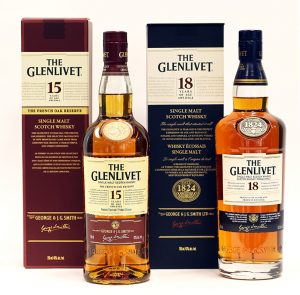 Glenlivet Lot (2 bottles)