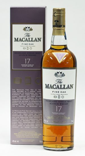 Macallan Fine Oak, 17 Year Old