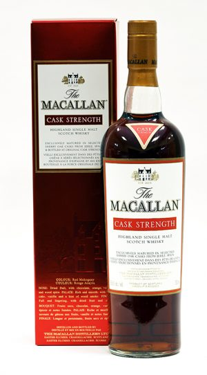 Macallan Cask Strength