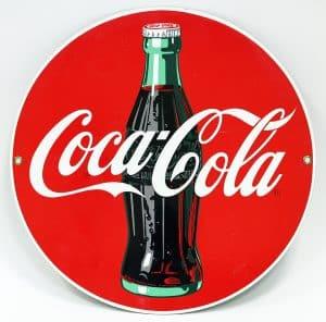 CONTEMPORARY ADVERTISING SIGN - COCA-COLA