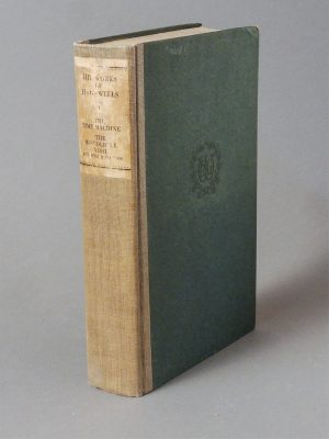 THE WORKS OF H.G. WELLS SIGNED COPY (28 VOLS.)
