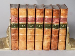 THE WORKS OF BEAUMONT AND FLETCHER (7 VOLS.)