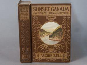 SUNSET CANADA; BRITISH COLUMBIA AND BEYOND