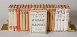 NELSON'S HISTORY OF THE WAR (21 VOLS.)