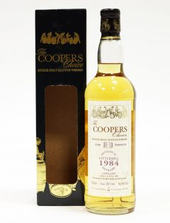 Littlemill 1984 Coopers Choice, 20 Year Old