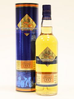 Littlemill 1985 Coopers Choice, 28 Year Old