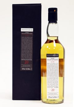 Pittyvaich 1989 Cask Strength, 20 Year Old