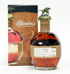 Blanton's Straight from the Barrel, Dumped 2020