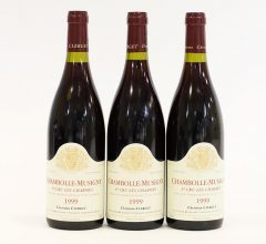 Domaine Christian Clerget Les Charmes Chambolle-Musigny 1999 (3 bottles)