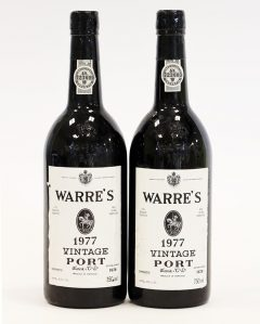Warre's Vintage Port 1977 (2 bottles)