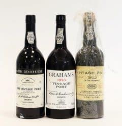 Vintage Port Selection (3 bottles)